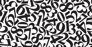 pattern and numbers numbers patterns wallpaper wall decor