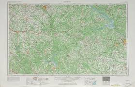 Map Of Wilmington Nc United States Topographic Maps 1 250 000 Perry Castañeda Map