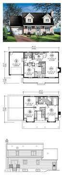 4 bedroom cape cod house plans cape cod house plan 61403 total living area 1871 sq ft 4
