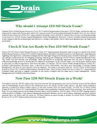 1z0 965 dumps oracle human capital management exam test