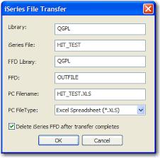 Host Excel Spreadsheet Iseries Data Transfer