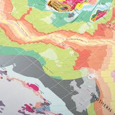 Huge World Map by Huge Geology Map By The Future Mapping Company