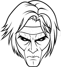 how to draw gambit easy step by step marvel characters draw