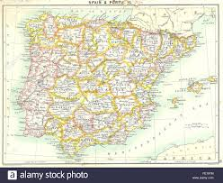 Portugal Spain Map by Spain Portugal Map Stock Photos U0026 Spain Portugal Map Stock Images