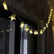 starlight led christmas lights amazon com tinnztes new warm white 4m 13ft 40 led star light fairy