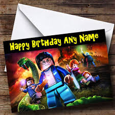 lego friends personalised birthday card the card zoo