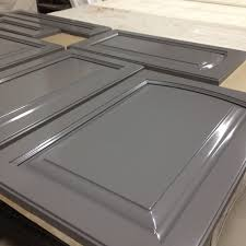 Spray Paint Cabinet Doors Appealing Spraying Cabinet Doors With Lacquer Pictures Inspiration
