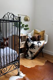 in the nursery with white farmhouse project nursery