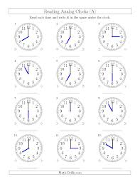 free clock worksheet generator worksheetsaquatechnicsbiz