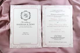 Carlton Cards Wedding Invitations Hadrian U0026 Dewi Wedding Invitations By Blumento Cards Bridestory Com