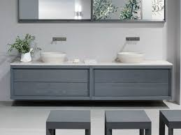 Contemporary Bathroom Vanity Units by Tray Double Vanity Unit By Dogi By Ged Arredamenti Design Enzo