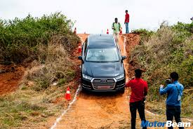 Audi Q7 Off Road - 2016 audi drive experience driving the r8 v10 plus motorbeam