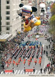 2009 macy s thanksgiving day parade marching band photos