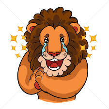cartoon images of thanksgiving turkey cartoon lion with tears of joy vector image 1957589 stockunlimited