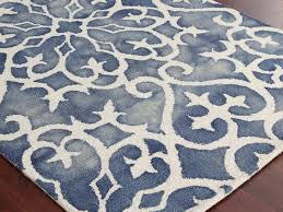 Gray And White Area Rug Blue And White Area Rug Visionexchange Co With Rugs Plans 1