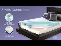 Serta Comfort Mattress Serta Icomfort Genius Everfeel Mattress National Video Youtube