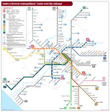 Map Rome Insider U0027s Guide To Rome The Metro Map