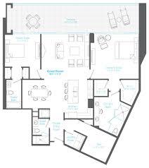 plaza floor plan 2 downtown sarasota luxury condos