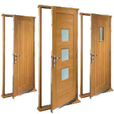 Hardwood Door Frames Exterior 1000 Doors Oak Walnut White Interior Doors