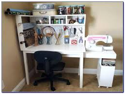Craft Table Desk Craft Desk Storage Ideas Desktop Craft Storage Craft Table Storage