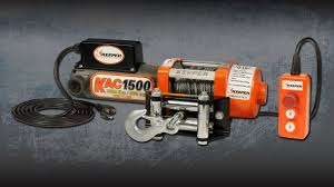 keeper kac1500 electric winch youtube
