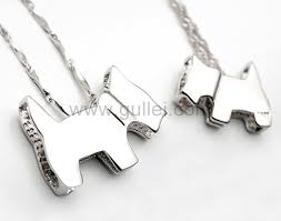 Engraved Necklaces For Her Sterling Silver Matching Dog Couples Necklaces For Him And Her