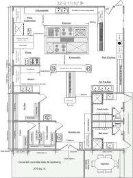 kitchen charming restaurant kitchen design layout samples