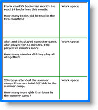 multi step word problems 3rd grade free math worksheets generators