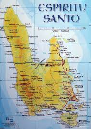 Local Map Santo Island Dive Luganville Espiritu Santo Vanuatu