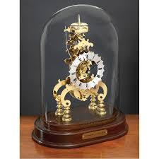 Bulova Valeria Mantel Clock Skeleton Desk Clock Hostgarcia