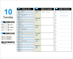 Daily Planner Template Excel 6 Printable Day Planner Templates Free Word Excel Pdf