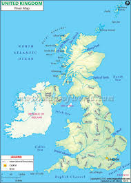 Map Of The British Isles Uk River Map Rivers In Uk Map