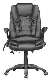 chaise bureau massante foxhunter 6 point office computer chair luxury leather