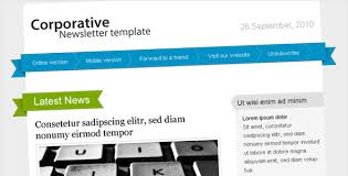 free and premium email newsletter templates and layouts