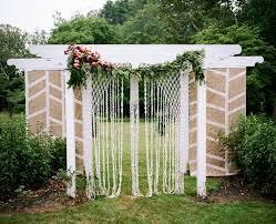 Wedding Backdrop Trends 46 Best Wedding Ceremony Backdrops Images On Pinterest Marriage