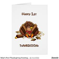 baby s thanksgiving greeting card thanksgiving greeting cards