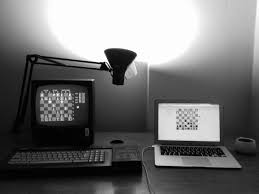 chess master 2000 on the amstrad cpc6128 beated stockfish