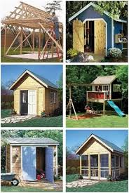 Backyard Cottage Ideas by Shed Playhouse Hakkında Pinterest U0027teki En Iyi 20 Fikir