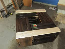 chapter rustic crate coffee table diy furniture easy