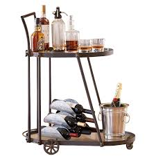 victoria station bar cart 15528 iwa wine