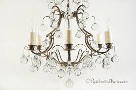Swedish Chandelier Vintage 1950s Swedish Controlled Chandelier