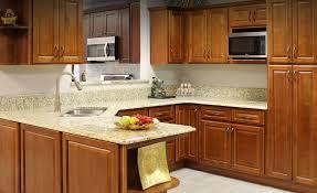 bathroom modern kitchen with granite countertop and oak costco