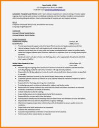 Lmsw Resume Social Work Resume Examples Sample Free Worker Template Aust Saneme