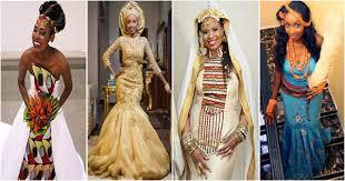 tenue africaine pour mariage mariage africain 17 robes de mariée en tenue traditionnelle