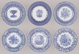 spode collection 6 dinner plate set at