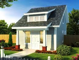 tiny cottage or guest quarters 52284wm architectural designs