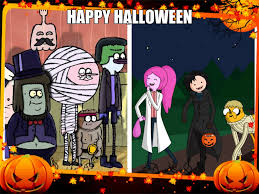 adventure time and regular show this is halloween youtube