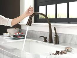 moen kitchen faucets rubbed bronze awesome kitchen faucets duijs info