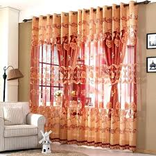 Burnt Orange Sheer Curtains Orange And Red Curtains Remarkable Burnt Orange Curtains And Room