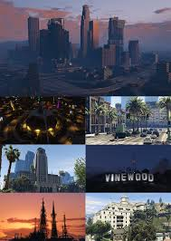 Map Of Los Angeles Beach Cities by Los Santos Gta Wiki Fandom Powered By Wikia